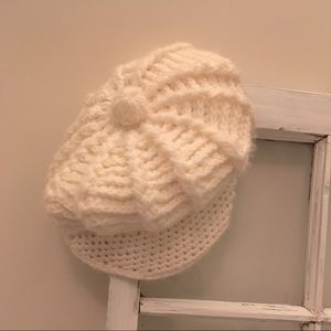 Free add on 🎁with bundle.  Crocheted beret